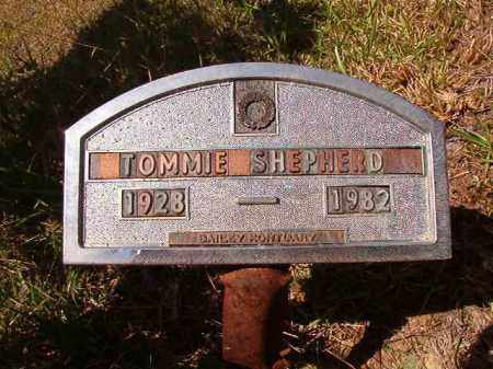 SHEPHERD, TOMMIE - Columbia County, Arkansas | TOMMIE SHEPHERD - Arkansas Gravestone Photos