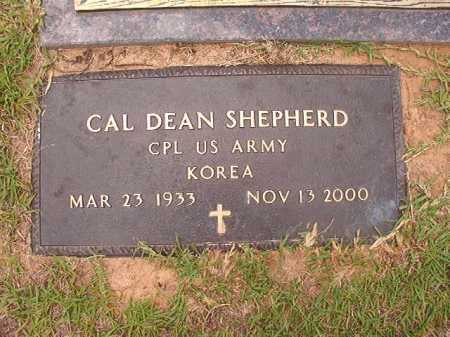 SHEPHERD (VETERAN KOR), CAL DEAN - Columbia County, Arkansas | CAL DEAN SHEPHERD (VETERAN KOR) - Arkansas Gravestone Photos