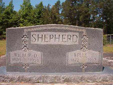 SHEPHERD, WILBUR D - Columbia County, Arkansas | WILBUR D SHEPHERD - Arkansas Gravestone Photos