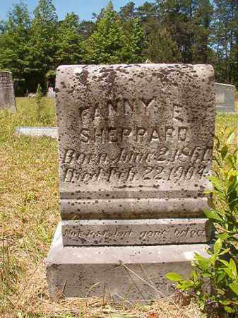 SHEPPARD, FANNY E - Columbia County, Arkansas | FANNY E SHEPPARD - Arkansas Gravestone Photos