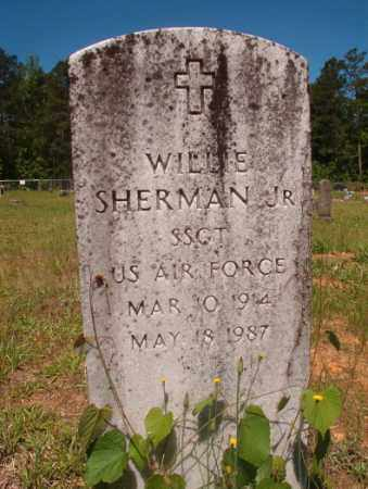 SHERMAN, JR (VETERAN), WILLIE - Columbia County, Arkansas | WILLIE SHERMAN, JR (VETERAN) - Arkansas Gravestone Photos