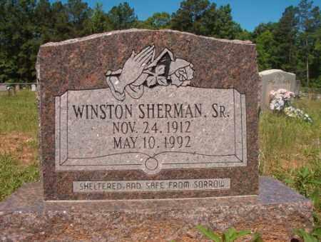 SHERMAN, SR, WINSTON - Columbia County, Arkansas | WINSTON SHERMAN, SR - Arkansas Gravestone Photos