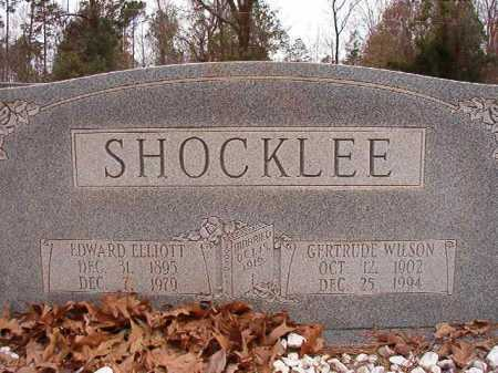 SHOCKLEE, GERTRUDE - Columbia County, Arkansas | GERTRUDE SHOCKLEE - Arkansas Gravestone Photos
