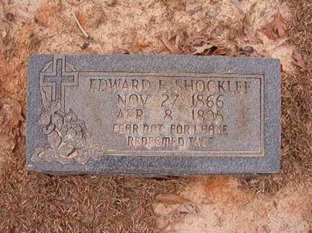 SHOCKLEE, EDWARD E - Columbia County, Arkansas | EDWARD E SHOCKLEE - Arkansas Gravestone Photos