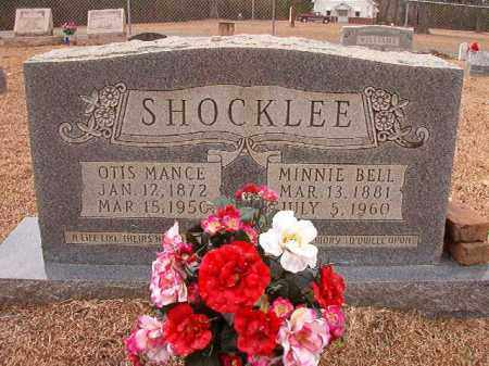 SHOCKLEE, OTIS MANCE - Columbia County, Arkansas | OTIS MANCE SHOCKLEE - Arkansas Gravestone Photos
