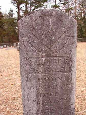 SHOCKLEE, SANFORD F - Columbia County, Arkansas   SANFORD F SHOCKLEE - Arkansas Gravestone Photos