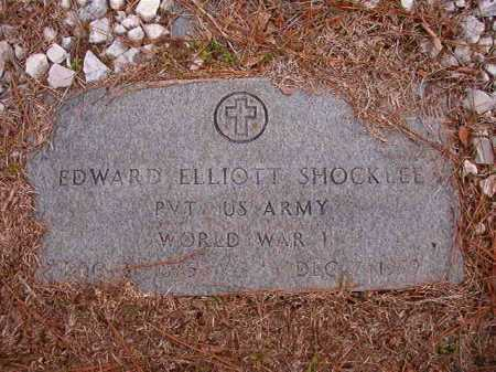 SHOCKLEE (VETERAN WWI), EDWARD ELLIOTT - Columbia County, Arkansas | EDWARD ELLIOTT SHOCKLEE (VETERAN WWI) - Arkansas Gravestone Photos