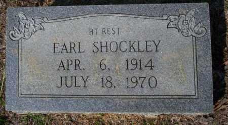 SHOCKLEY, EARL - Columbia County, Arkansas | EARL SHOCKLEY - Arkansas Gravestone Photos