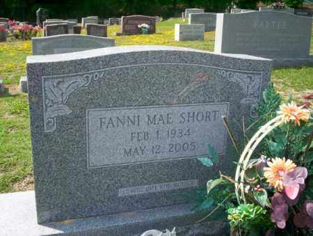 SHORT, FANNI MAE - Columbia County, Arkansas | FANNI MAE SHORT - Arkansas Gravestone Photos