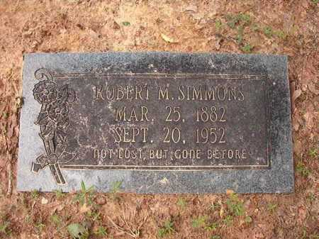 SIMMONS, ROBERT M - Columbia County, Arkansas | ROBERT M SIMMONS - Arkansas Gravestone Photos