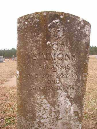 SIMMONS (VETERAN), JOE - Columbia County, Arkansas | JOE SIMMONS (VETERAN) - Arkansas Gravestone Photos