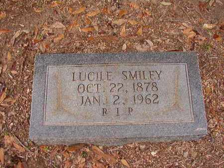 SMILEY, LUCILE - Columbia County, Arkansas | LUCILE SMILEY - Arkansas Gravestone Photos