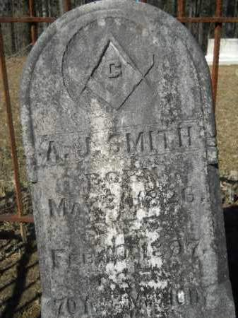 SMITH, A J - Columbia County, Arkansas | A J SMITH - Arkansas Gravestone Photos
