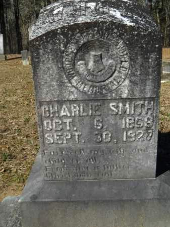 SMITH, CHARLIE - Columbia County, Arkansas | CHARLIE SMITH - Arkansas Gravestone Photos