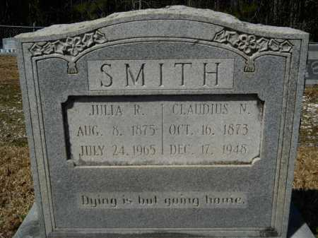SMITH, CLAUDIUS N - Columbia County, Arkansas | CLAUDIUS N SMITH - Arkansas Gravestone Photos