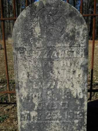 SMITH, ELIZZABETH - Columbia County, Arkansas | ELIZZABETH SMITH - Arkansas Gravestone Photos