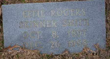 ROGERS - SKINNER SMITH, EFFIE - Columbia County, Arkansas | EFFIE ROGERS - SKINNER SMITH - Arkansas Gravestone Photos