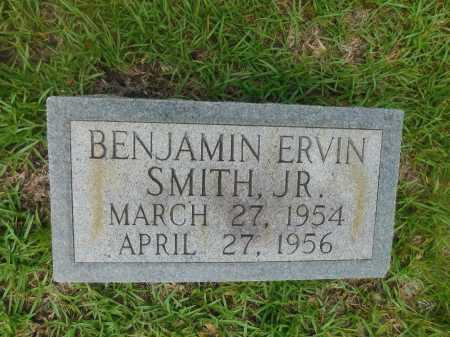 SMITH, JR, BENJAMIN ERVIN - Columbia County, Arkansas | BENJAMIN ERVIN SMITH, JR - Arkansas Gravestone Photos