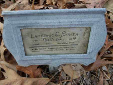 SMITH, LACEDRIC E - Columbia County, Arkansas | LACEDRIC E SMITH - Arkansas Gravestone Photos