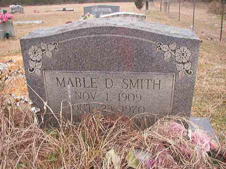 SMITH, MABLE D - Columbia County, Arkansas | MABLE D SMITH - Arkansas Gravestone Photos