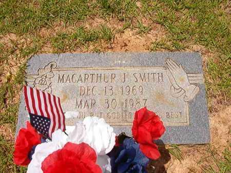 SMITH, MACARTHUR J - Columbia County, Arkansas | MACARTHUR J SMITH - Arkansas Gravestone Photos