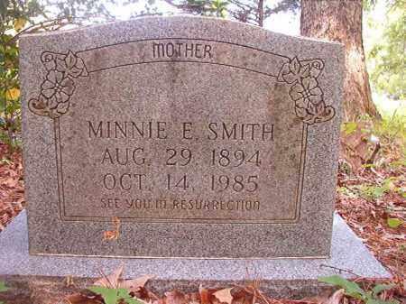 SMITH, MINNIE E - Columbia County, Arkansas   MINNIE E SMITH - Arkansas Gravestone Photos
