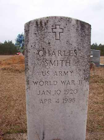 SMITH (VETERAN WWII), CHARLES - Columbia County, Arkansas | CHARLES SMITH (VETERAN WWII) - Arkansas Gravestone Photos