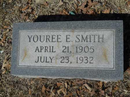 SMITH, YOUREE E - Columbia County, Arkansas | YOUREE E SMITH - Arkansas Gravestone Photos