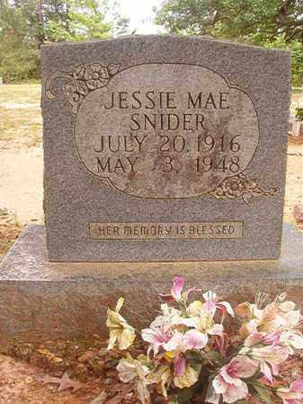 SNIDER, JESSIE MAE - Columbia County, Arkansas | JESSIE MAE SNIDER - Arkansas Gravestone Photos