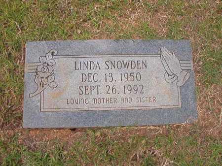 SNOWDEN, LINDA - Columbia County, Arkansas   LINDA SNOWDEN - Arkansas Gravestone Photos