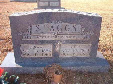 STAGGS, ETTA - Columbia County, Arkansas | ETTA STAGGS - Arkansas Gravestone Photos