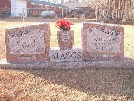 STAGGS, WILLIE LEE - Columbia County, Arkansas | WILLIE LEE STAGGS - Arkansas Gravestone Photos