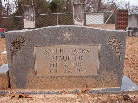 STAUFFER, SALLIE - Columbia County, Arkansas | SALLIE STAUFFER - Arkansas Gravestone Photos