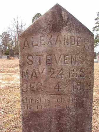 STEVENS, ALEXANDER - Columbia County, Arkansas | ALEXANDER STEVENS - Arkansas Gravestone Photos