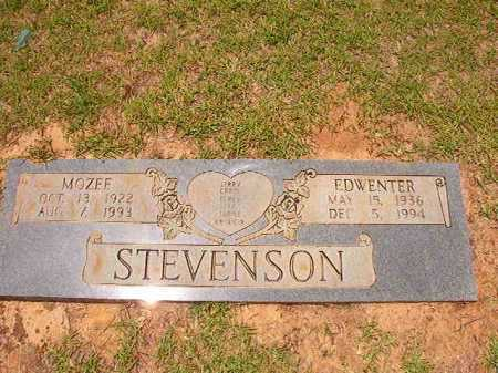 STEVENSON, EDWENTER - Columbia County, Arkansas | EDWENTER STEVENSON - Arkansas Gravestone Photos