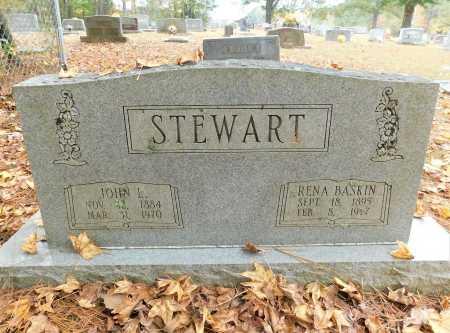 BASKIN STEWART, RENA - Columbia County, Arkansas | RENA BASKIN STEWART - Arkansas Gravestone Photos