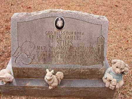 STILES, BRIAN SAMUEL - Columbia County, Arkansas | BRIAN SAMUEL STILES - Arkansas Gravestone Photos