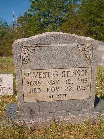 STINSON, SILVESTER - Columbia County, Arkansas | SILVESTER STINSON - Arkansas Gravestone Photos