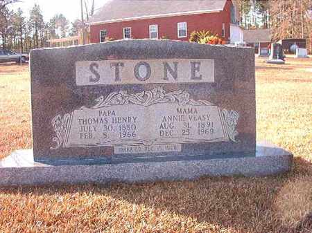 VEASY STONE, ANNIE - Columbia County, Arkansas | ANNIE VEASY STONE - Arkansas Gravestone Photos