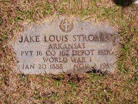 STROMAN (VETERAN WWI), JAKE LOUIS - Columbia County, Arkansas | JAKE LOUIS STROMAN (VETERAN WWI) - Arkansas Gravestone Photos