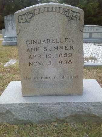SUMNER, CINDARELLER ANN - Columbia County, Arkansas | CINDARELLER ANN SUMNER - Arkansas Gravestone Photos