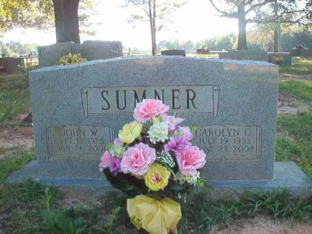 SUMNER, CAROLYN C - Columbia County, Arkansas | CAROLYN C SUMNER - Arkansas Gravestone Photos