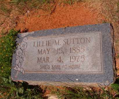 SUTTON, LILLIE M - Columbia County, Arkansas | LILLIE M SUTTON - Arkansas Gravestone Photos