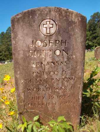 SUTTON (VETERAN WWI), JOSEPH - Columbia County, Arkansas | JOSEPH SUTTON (VETERAN WWI) - Arkansas Gravestone Photos