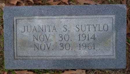 SUTYLO, JUANITA S - Columbia County, Arkansas | JUANITA S SUTYLO - Arkansas Gravestone Photos