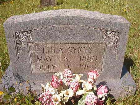 SYKES, LULA - Columbia County, Arkansas | LULA SYKES - Arkansas Gravestone Photos