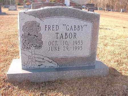 "TABOR, FRED ""GABBY"" - Columbia County, Arkansas 