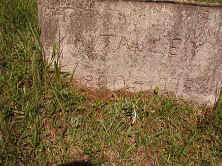 TALLEY, A - Columbia County, Arkansas   A TALLEY - Arkansas Gravestone Photos