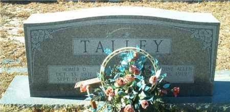 TALLEY, HOMER D. - Columbia County, Arkansas | HOMER D. TALLEY - Arkansas Gravestone Photos