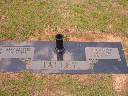 TALLEY, JIM HAROLD - Columbia County, Arkansas | JIM HAROLD TALLEY - Arkansas Gravestone Photos
